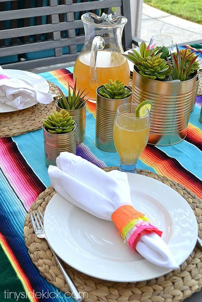 easy diy cinco de mayo party decorations