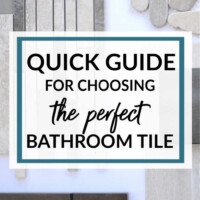 easy steps for choosing bathroom tile