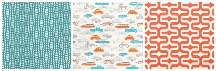 fabric for little boy's room