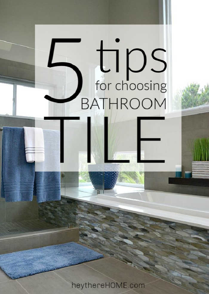 5 Tips For Choosing The Right Bathroom Tile - Grey-bathroom-tile