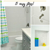 how to choose tile for a kid's bathroom