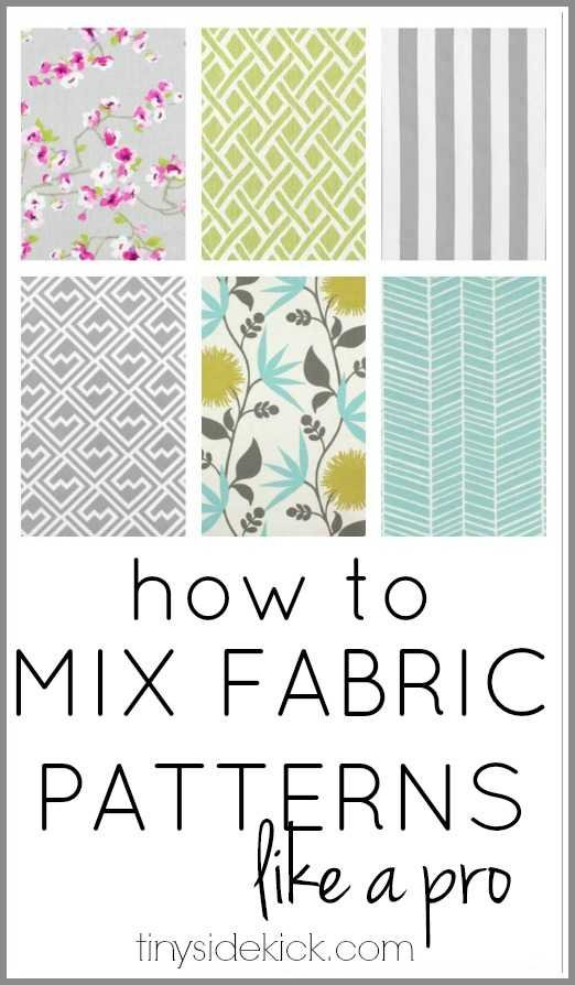 How To Mix Fabric Patterns Like A Pro
