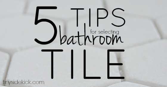 Bathroom Tiles Design Philippines 5 tips for choosing bathroom tile