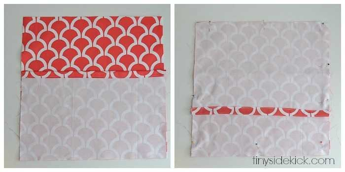 No Zipper Pillow Cover Tutorial: How to Make an Envelope Pillow Cover,