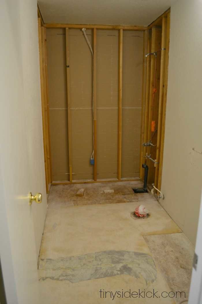 Delighted How To Install Cement Board In A Shower Gallery - The Best ...