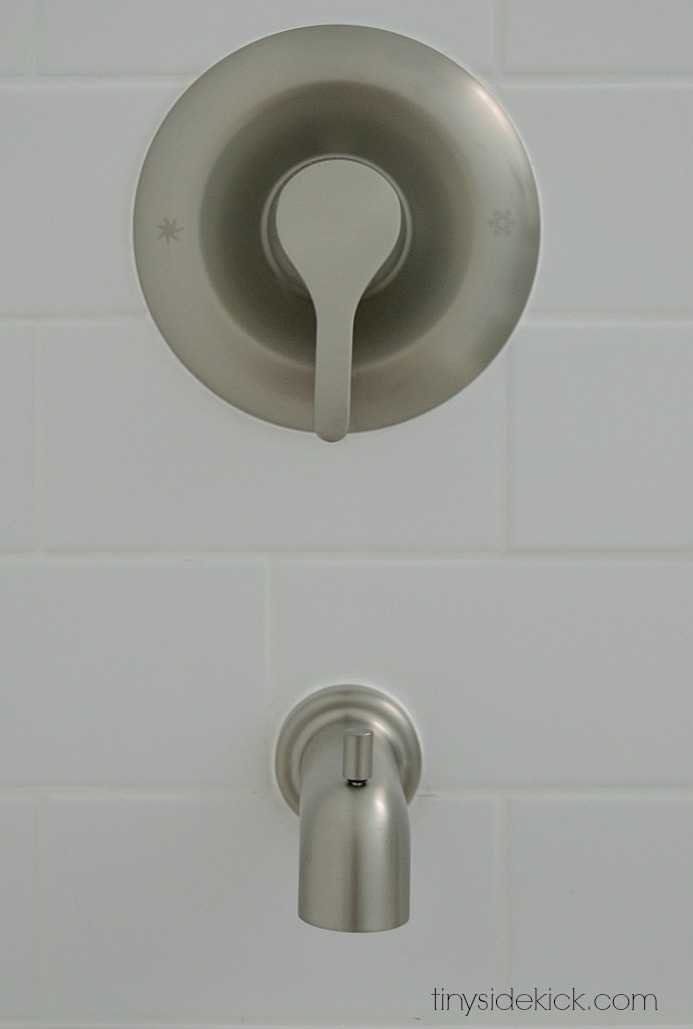 moen shower and tub faucet