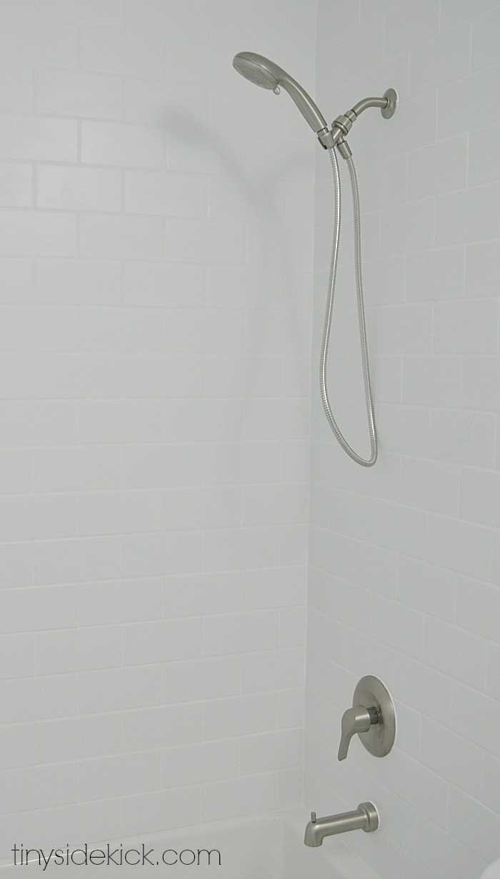 new shower faucet by moen