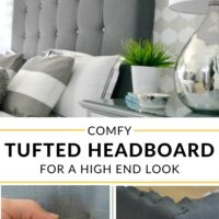 Comfy upholstered Headboard