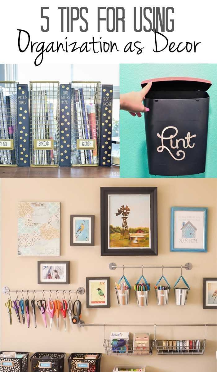 Uncategorized Add Organization Tips 5 tips for using organization as decor