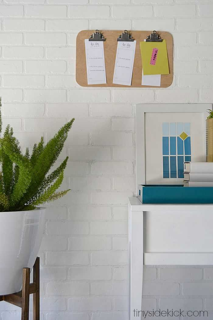 DIY West Elm Notice Board