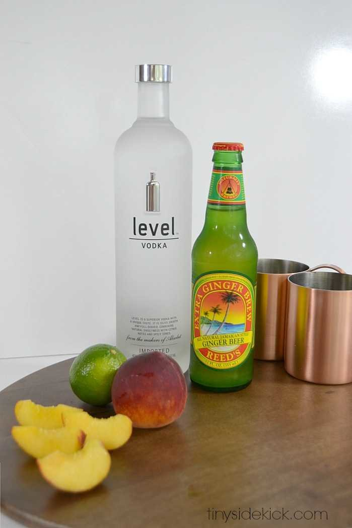 peach infused vodka recipe