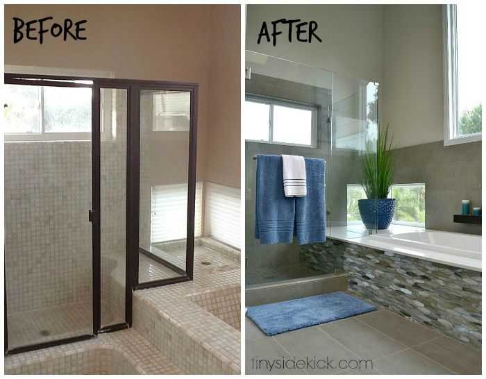 modern coastal bathroom remodel