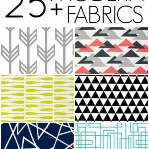 25 modern home decor fabrics