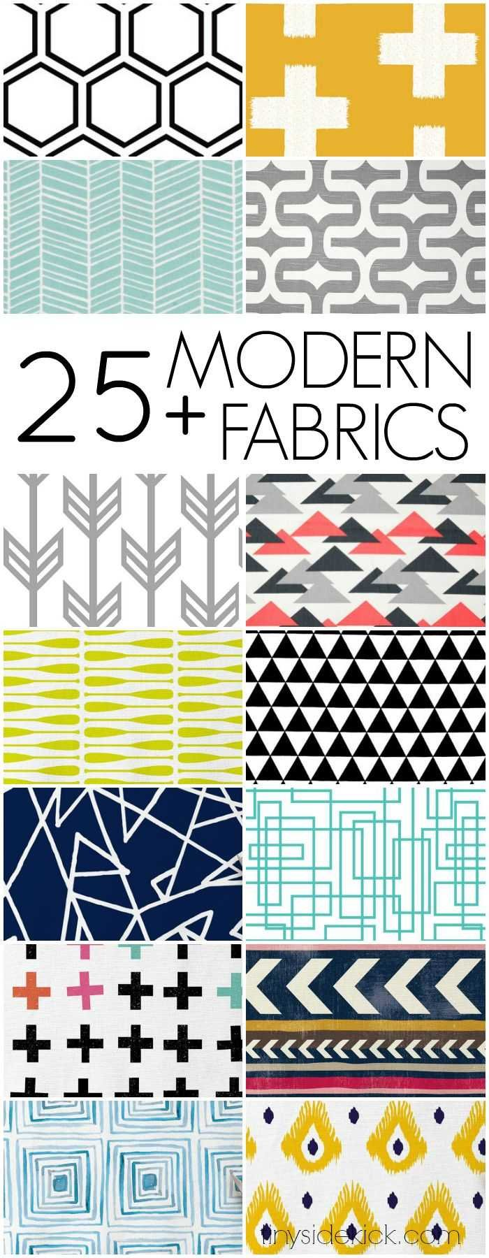 Genial 25 Modern Home Decor Fabrics