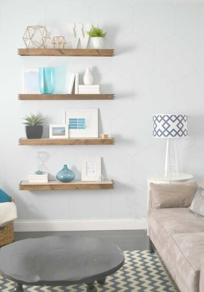 light blue with grey undertones called Beach Foam by Behr living room wall