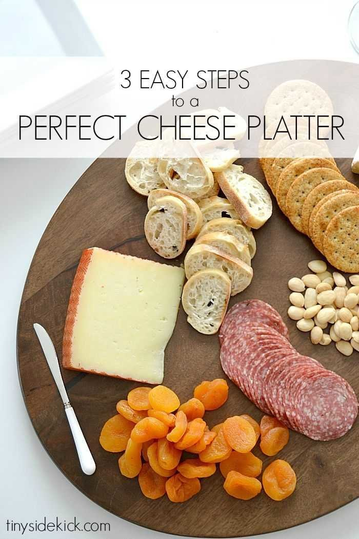 3 Steps to a Perfect Cheese Platter