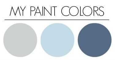 the paint colors in my home - sidebar