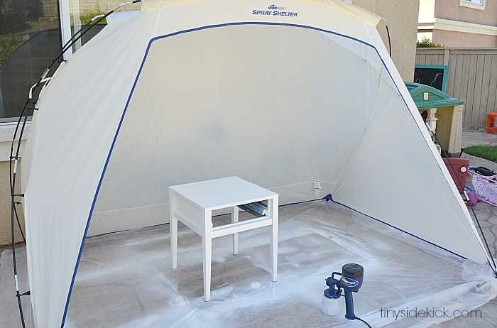 spray shelter by home right