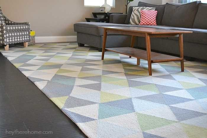 affordable area rug for a large space