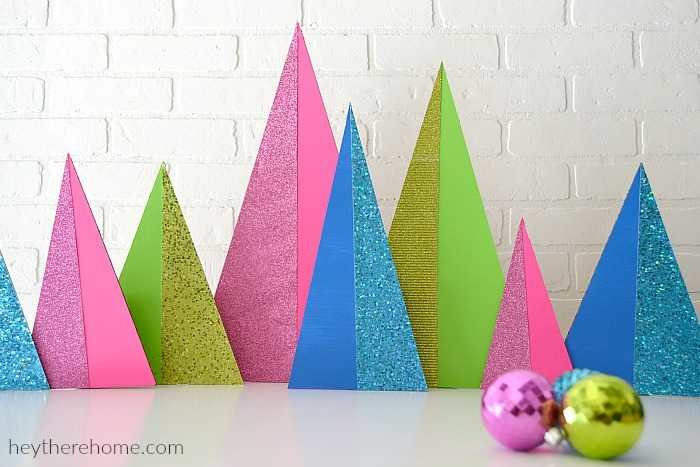 modern christmas decorations modern christmas trees tutorial - Modern Christmas