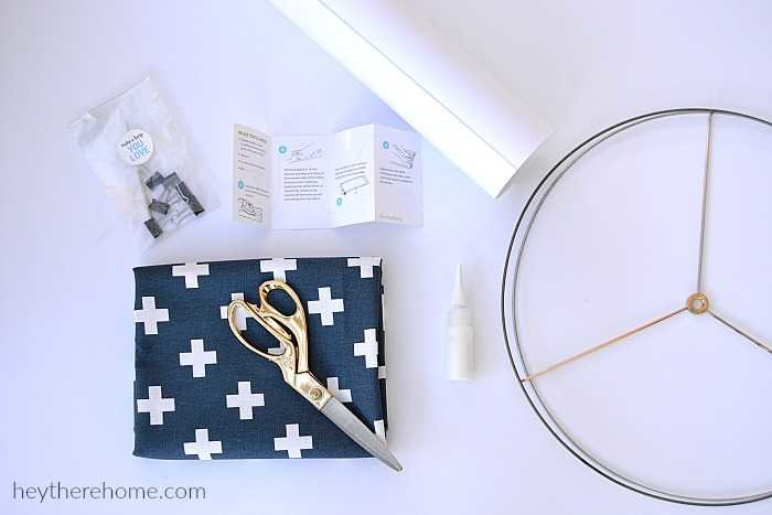 how to make a lamp shade with your own fabric