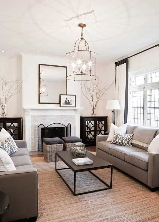 formal living room with balance. 4 Practical Tips That Will Have You Mixing Decor Styles With