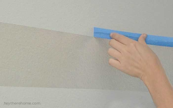 how to paint perfect paint lines