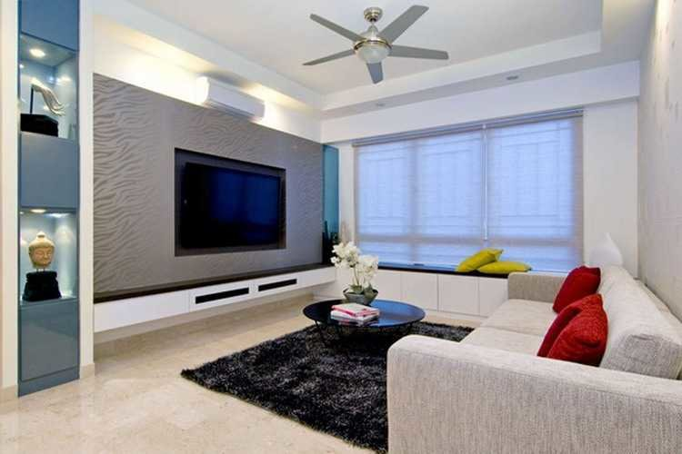 Modern home decor style example