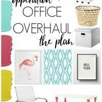 Hey There, Home Office Overhalul- The Plan