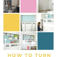 How to turn a closet into builtin