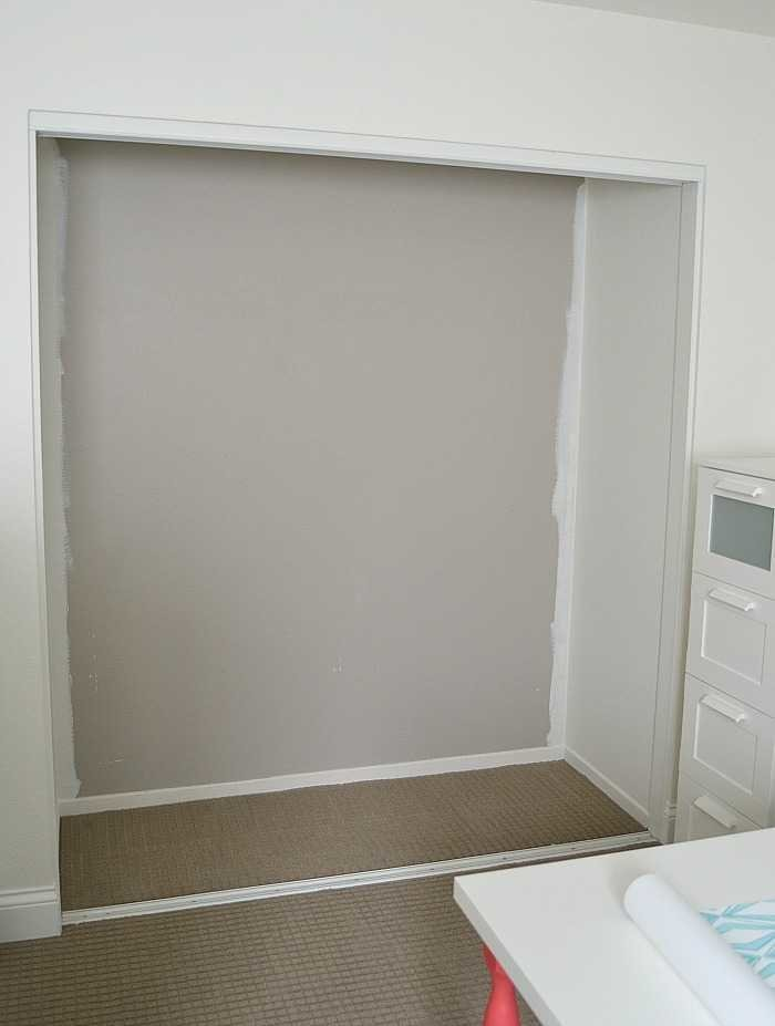 office built in. ikea hack how to turn a standard closet into built in for craft storage using office