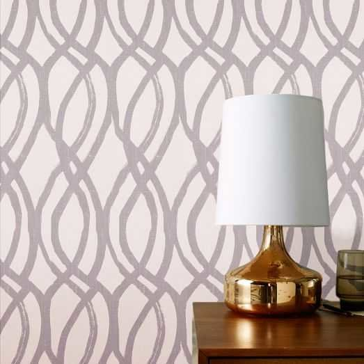 scribble removable wallpaper by West Elm