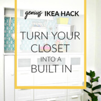turn a closet into a built in using dressers