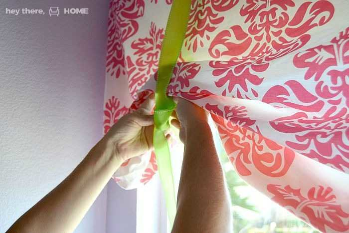 easy window treatments for little girls room Hey There, Home.com