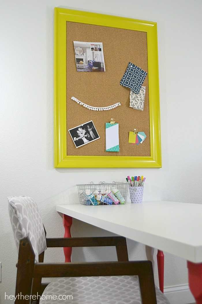 inspiration board for office space