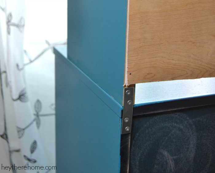 How to build a shelf unit Ikea How To Build Shelf Unit With The Kreg Jig 2 Hey There Home Who Says Girl Cant Diy Shelves And Make An Old Filing Cabinet So