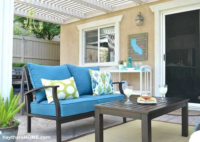 easy to maintain outdoor patio furniture