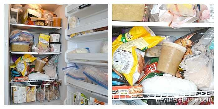 how to organize your freezer in 3 yeasy steps plus a free printable freezer inventory sheet