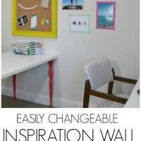 renter friendly wall art and inspiration wall