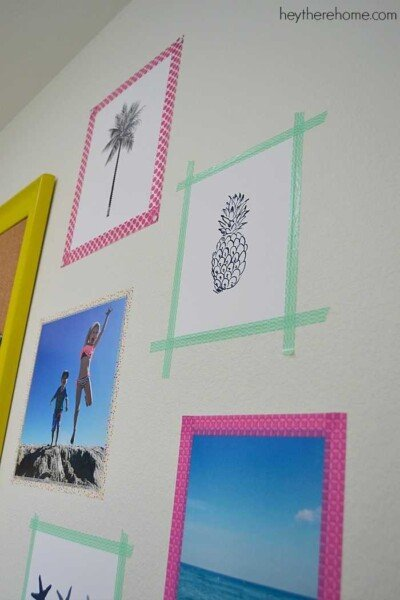 renter friendly wall art and inspiration wall (3)