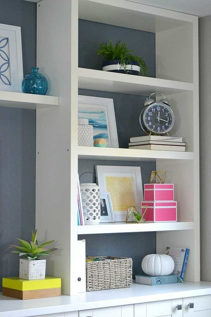 Ikea bookshelf hack