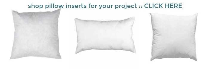 shop pillow forms