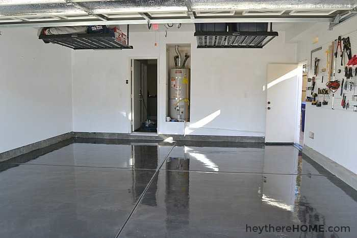 customer photos clear garage floor polyuea gloss coating with polyurea
