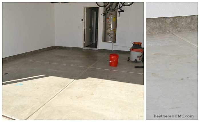diy garage floor coating rustoleum rock solid