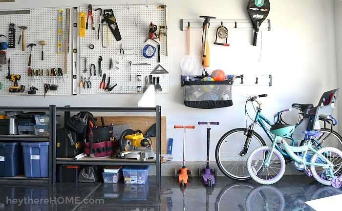 DIY garage organization ideas