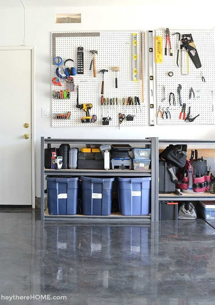 Diy Garage Organization Systems Garage Reveal