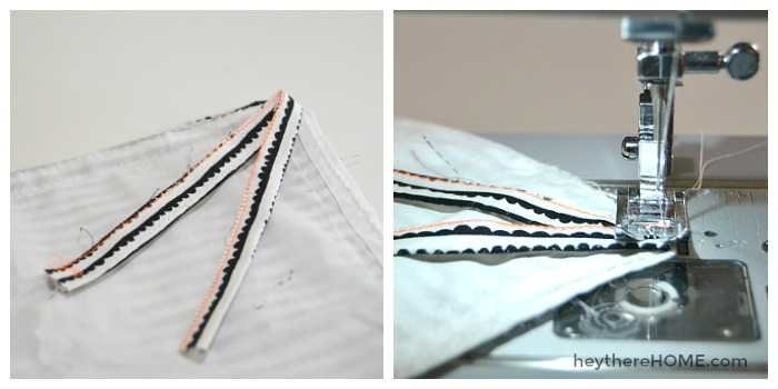 how to make insert ties for a twin duvet cover