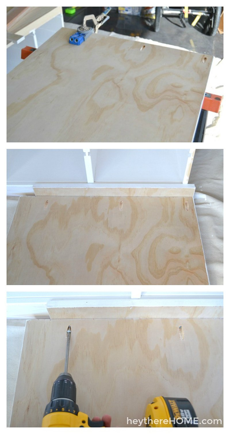 how to make a platform bed with storage (5)