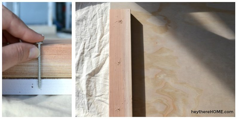 how to make a platform bed with storage (6)