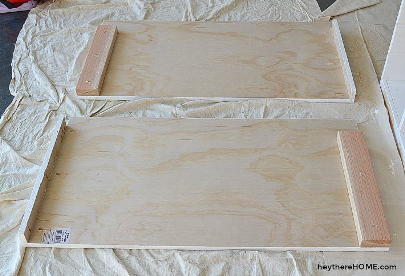 how to make a platform bed with storage